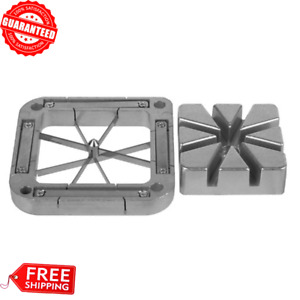 8 Wedge Replacement Parts French Fry Stainless Steel Blade Assembly Cutter Block