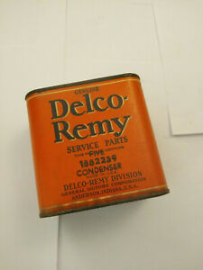 Vtg Antique Nos Delco Remy Lot Of 5 Condensers 1882239 Gm Usa