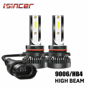 Mini 9006 Hb4 1500w 225000lm Led Car Headlight Kit Bulb Hi Low Beam 6000k White