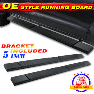 For Nissan Frontier 05 21 Crew Cab 5 Rectangle Bar Running Board Side Step H