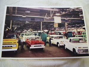 1960 1961 Gmc Truck Assembly Line 11 X 17 Photo Picture