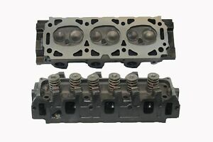 Ford V6 3 0 Cylinder Head Pair Taurus Van Ranger 1986 2007 W Hardened Ex Seats