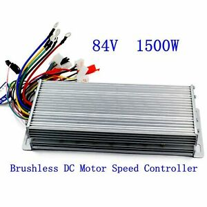 Us 84v 1500w Electric Bicycle E bike Scooter Brushless Dc Motor Speed Controller