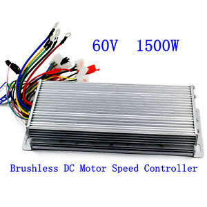Us 60v 1500w Electric Bicycle E bike Scooter Brushless Dc Motor Speed Controller