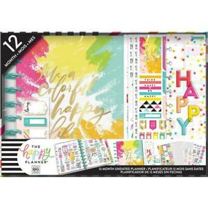 Mambi The Happy Planner Girl 12 Month Box Kit Classic Brights Box 186