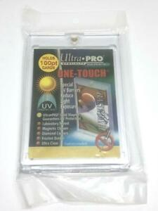 1 Ultra pro One touch Magnetic 100pt Uv Protected Card Holders As Picture In