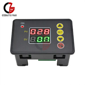 Ac110 220v Digital Time Delay Relay Module Timer Cycle Controller W Led Display
