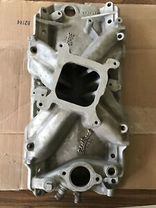 Edelbrock Tm2 R Big Block Chevy 2695 Square Port Intake 395 402 427 454 Bbc