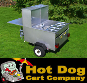 Hot Dog Cart Vending Concession Trailer Stand New Gladiator Hot Dog Cart Model
