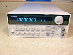 1632 Hewlett Packard 33120a 15 Mhz Function arbitrary Generator Tested In Cal