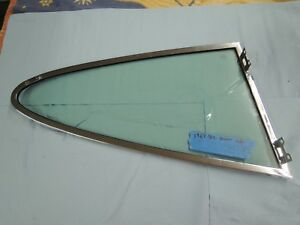 Porsche 911 912 Pop Out Window Frame With Glass Left Driver Side