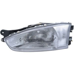 Left Driver Side Headlight Assembly For Mitsubishi Mirage 1997 2002