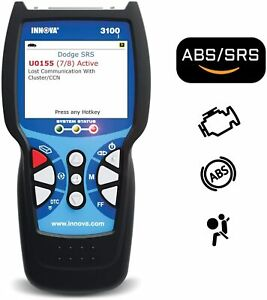 Innova 3100j Obd2 Diagnostic Scan Tool code Reader With Abs Srs