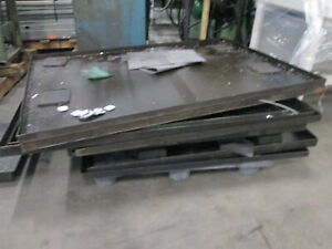 Steel Constructed Machine Oil Containment Pans Perfect For Small Press Mills Et