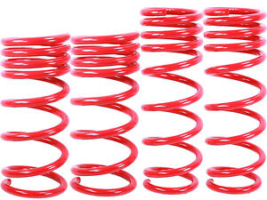 Red Lowering Springs Fit 09 17 Nissan 370z Approx 1 00 Drop