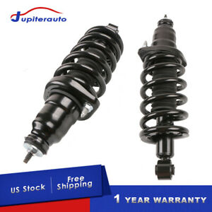 2pcs Rear Complete Shock Struts W Springs Assembly For 2003 2011 Honda Element
