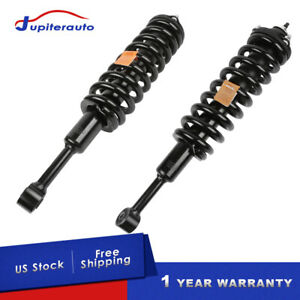 Pair Front Complete Shocks Struts Assy For Toyota 03 16 4runner O5 15 Tacoma 4wd