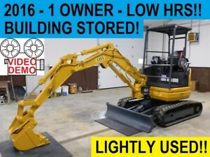 2016 Ihi 25v 4 Compact Trackhoe Mini Excavator Lightly Used Building Stored