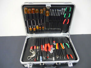Electronic Electrical Tool Kit Case xcelite 99 Weller Wp25