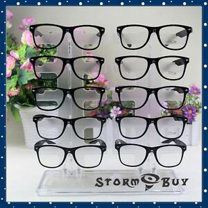 Acrylic Clear Display Retail Show Stand Holder Rack For Glasses Sunglasses
