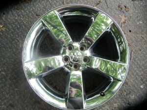 20 Inch Chrome Dodge Challenger Charger Oem Factory Wheel Rim 2009 2014