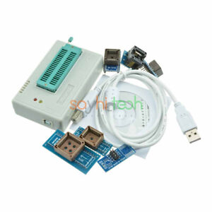 Tl866ii Plus Programmer Usb Eprom Bios W 7adapter Socket Extractor For 13000 Ic