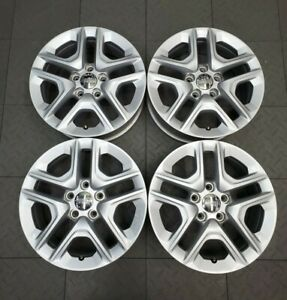 9185 Jeep Compass 16 Silver Factory Oem Wheels Set Rims 2017 2019 5vc24trmaa