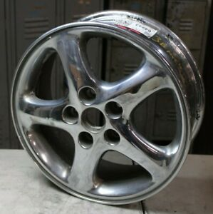 02 03 Mazda Protege Oem Wheel Rim Chrome 16x6 64843 9965446060 9965416060