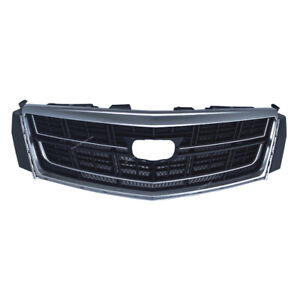 Front Bumper Radiator Grill Upper Grille Fit For 2013 2017 Cadillac Xts