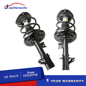 Pair Front Struts Shock W Spring Kit Assy For 2007 2012 Nissan Altima S Sr 2 5l