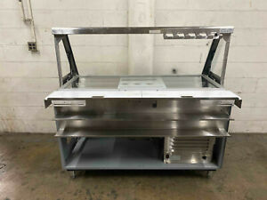 Duke Sub cp tc60m 60 Refrigerated Prep Table Drop Down Sneeze Guard