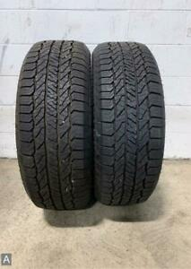 2x Take Off P275 55r20 Hankook Dynapro At2 12 32 Used Tires