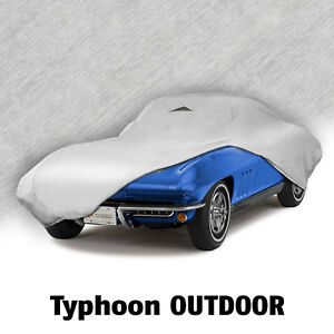 1963 1967 C2 Corvette Outdoor Typhoon Gray All Weather Car Cover 620085