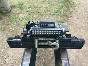Jeep Tj Front Bumper With 12k Winch