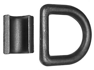16x 1 2 D Rings Weld on Flatbed Truck Trailer Ratchet Strap Cargo Tie Down