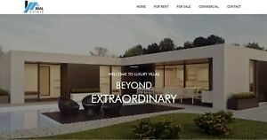 Custom Website Profesional For Real Estate For Sale Ready To Active