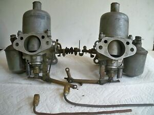 Mg Mga Twin Cam Su Carburetor Set Tag Auc 877 i 3 4 This Is The Real Deal