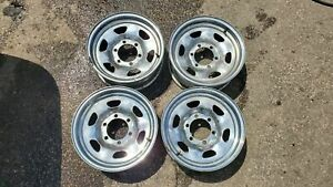 Oem Toyota Fj40 Fj60 Fj62 Chrome Wheels 4 15x6