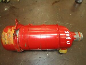 International 504 Utility Used Oil Bath Air Cleaner Assembly Antique Tractor