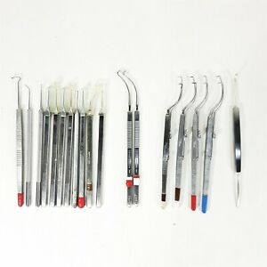 lot Of 18 Misc Surgical Ophthalmic Instruments V Mueller Storz