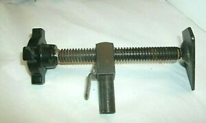 Vintage 7 Screw Jack With Turn Handle