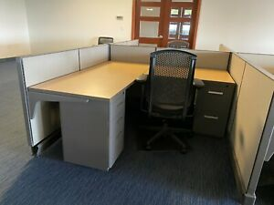 6x6 Herman Miller Ao2 Clone Office Cubicles