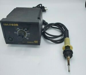 Hakko 936 Esd Safe Soldering Iron Station With Hakko 950 Soldering Tweezer