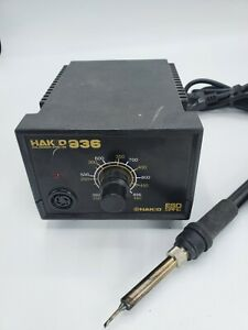 Hakko 936 Esd Safe Soldering Iron Station