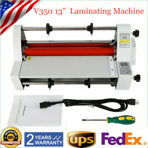 2020 Latest Version Four Rollers Hot And Cold Roll Laminating Machine Full Mute