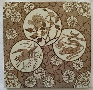 Japanesque Aesthetic Movement Tile