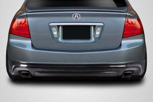 Acura Tl 04 08 Carbon Creations Carbon Fiber Aspec Look Rear Lip Spoiler