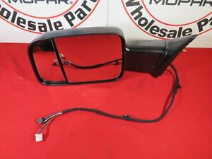 Dodge Ram Classic Driver Side Trailer Tow Mirror New Oem Mopar