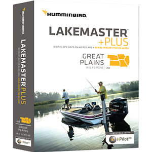 Humminbird Lakemaster+ Maps  Great Plains