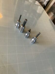 Snap On 4 piece Allen Wrench Sockets